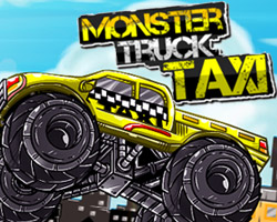 Monster Taxi Truck