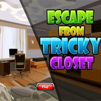 Escape from tricky closet
