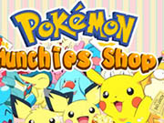 Pokemon munchies shop